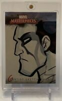 X-MEN'S COLOSSUS MARVEL MASTERPIECES ARTIST SKETCH AUTOGRAPH ART CARD 1/1