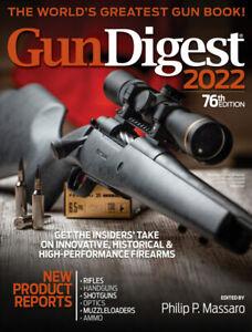 Gun Digest 2022 *Rifles / Handguns /Shotguns /Optics /Ammo & more *NEW &FREESHIP