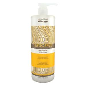 Natural Look Static Free Anti Frizz Shampoo 1000ml SLS - Vegan - Cruelty Free