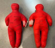 VooDoo Dolls, Vintage Gag Gift w/ Pins, Lot of Two (2)