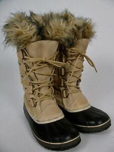 SOREL BOOTS JOAN OF ARCTIC ARC WATERPROOF SUEDE LEATHER WINTER SHOE~12 US/43 EU