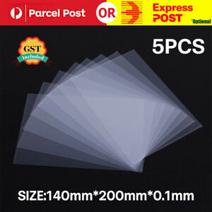 5PCS 3D Printer FEP Film Sheets For Anycubic SLA Photon Resin 200*140*0.1mm