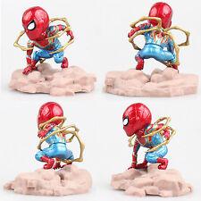 Avengers SPIDER MAN Bobble Head #M Figure 8.5CM Toy New