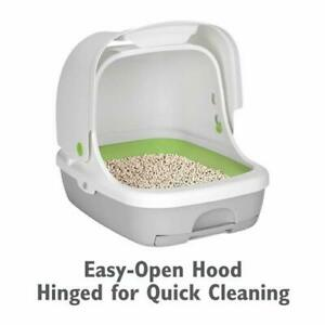 Purina Tidy Cats Hooded Litter Box System BREEZE Hooded System Starter Kit