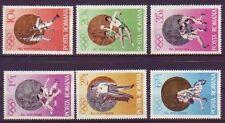 Briefmarken mit Motiven von den Olympischen Spielen als Satz aus Rumänien