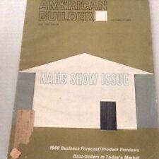 American Builder Magazine NAHB Show Business Forecast December 1965 071317nonrh3