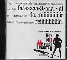 El Musical De Nacho Cano Hoy No Me Puedo Levantar CD Single Promo