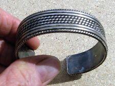 Navajo Cuff Bracelet Ron Y. Yazzie Southwest Design