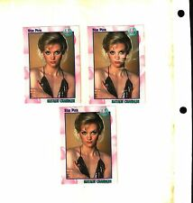 3 1991 Star Pics ABC Soaps All My Children # 31 Natalie Chandler Card EX TO NM