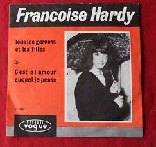 Françoise Hardy, tous les garçons et les filles, SP - 45 tours import Holland