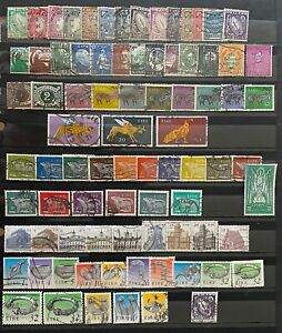 IRELAND 1922-95 OFF PAPER ACCUMULATION OF USED DEFINITIVES & COMMEMORATIVES 1250