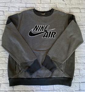 Vintage Nike Air Sweatshirt Jumper Grey Size Medium