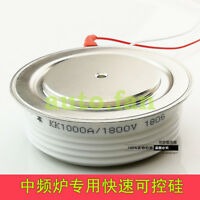 1PCS new KK1000A1800V intermediate frequency furnace fast thyristor thyristor