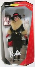 Winter In New York Barbie Doll (City Seasons: 1998 Winter Collection) [NEW]
