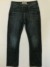 Wrangler jeans mens size 32 x 32 straight leg blue dark wash AZ1