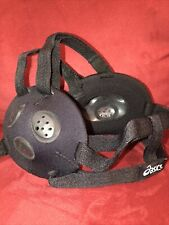 Asics Black Wrestling Ear Guard Head Gear For Adult Or Teen
