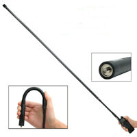 Dual Band VHF / UHF 48.8'' Gooseneck SMA-Female Antenna For Baofeng Abbree Radio