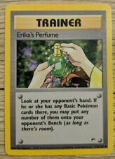 Pokemon Card Erika's Perfume 110/132 Gym Heroes Mint