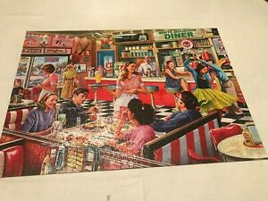 WHITE MOUNTAIN 1000 PIECE PUZZLE-AMERICAN DINER