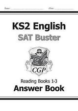 KS2 English SAT Buster: Reading Books 1-3 Answer Book New Curriculum
