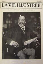 Journal La Vie Illustrated No 193 of 1902 Coronation Edourd VIII Groat D Annam