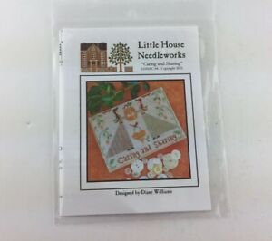 Little House Needleworks Caring And Sharing Cross Stitch Pattern Thanksgiving