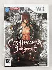 Nintendo Wii Castlevania Judgement (2009), New & Factory Sealed, Minor Scrape