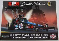 2016 Scott Palmer Lucas Oil Drag Boat Racing Series Top Fuel NHRA postcard