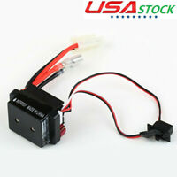 320A Fwd/Rev Waterproof ESC Brushed Electronic Speed Controller For RC Car USA