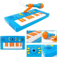 Cartoon Keyboard Music Toy With A Microphone For Child Kids Music Toys Gifts New