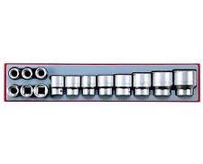 "Teng Tools TTX3414 3/4"" Metric 14pc 6 Point Set of Sockets 19mm - 50mm Tool Tray"