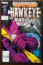SOLO AVENGERS, #7 (Featuring HAWKEYE) Marvel Comics 1988 Fine