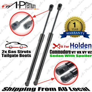 Tailgate Boot Gas Struts for Holden Commodore VT VX VY VZ Sedan With Spoiler