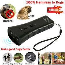 Ultrasonic Anti Bark Stop Barking Pet Dog Trainer LED Light Gentle Chaser Device