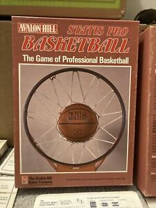 Avalon Hill Statis Pro Basketball Super Rare NBA Board Game 1989-1990