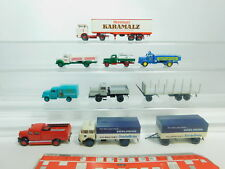 BO876-1 #8x Brekina H0 / 1:87 Camión: Ifa + MB + Magirus + Opel + Hanomag +
