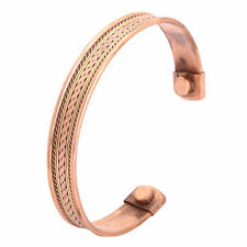 Bio Celtic Magnetic Copper Bracelet-Bangle Unisex Arthritis Pain Relief Strength