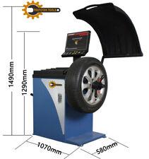 Equilibratrice gomme cerchi auto, programmi pesi cerchi.display a led. 220 V