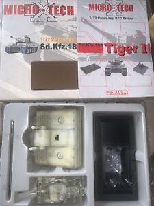 Dragon 1:72 Palm-top R/C Armor Micro Sd.Kfz.181 Ausf.H1 Tiger I Model #65004
