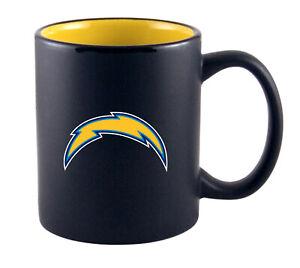 NFL Coffee Cup Los Angeles Chargers Two Tone Mug Cup Coffee Mug Football