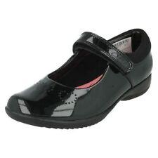 Chaussures décontractées avec boucle en cuir pour fille de 2 à 16 ans