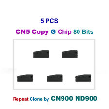 5PCS, CN5 Copy G Chip 80 Bit Car Key Chip (Repeat Clone by CN900 and ND900)
