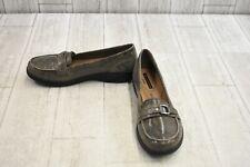 Clarks Cheyn Marie Loafer - Women's Size 7.5 M, Grey Snake