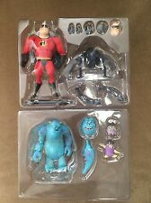 Revoltech Disney Pixar Figure Kaiyodo Monsters, Inc: Sulley & Mister Incredible