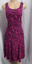 Hot Pink/navy Banana Republic Summer Dress Size XS