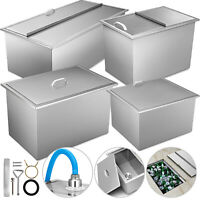Drop In Ice Chest Bin 7 Size Stainless Steel Insulated Wall Wine Beer Chilly Bin