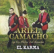 Ariel Camacho Y Los Plebes Del Rancho - El Karma [New CD]