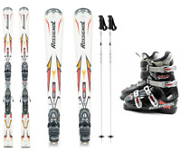 Rossignol Adult Ski Package - Skis w/ bidings,  Boots and Poles