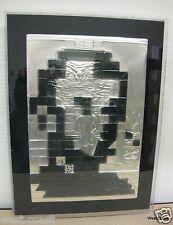 Limited Edition Salvador Dali Lincoln in Dalivision Silver bas relief Sculpture