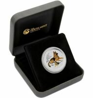 2018 YEAR OF THE DOG PERTH ANDA SHOW 2oz Silver Proof Coin
